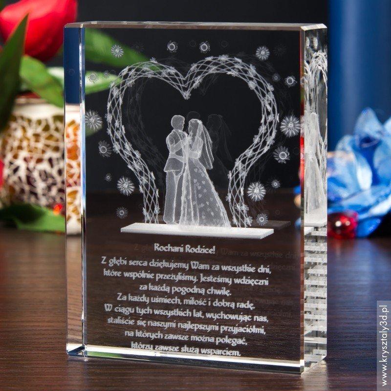 0f334418f5a2ab Prezent na ślub ♥ Para Młoda 3D w Altance ~ duża prosta